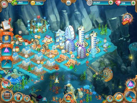 Aquapolis. Construire mégapole capture d'écran 13