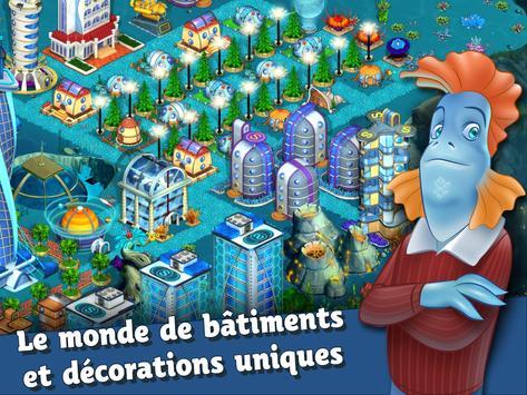 Aquapolis. Construire mégapole capture d'écran 17