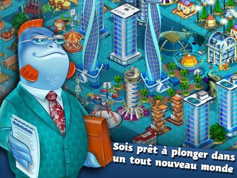 Aquapolis. Construire mégapole capture d'écran 7