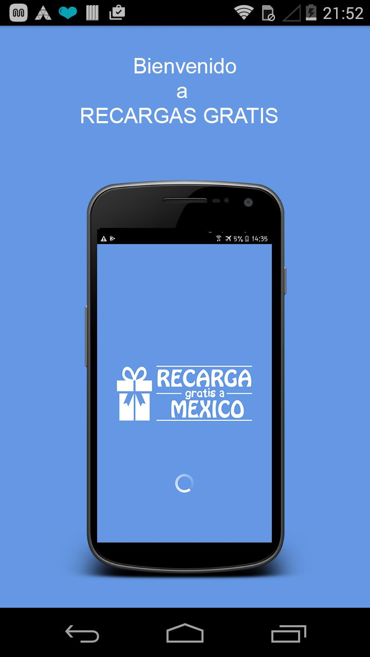 Recargas GRATIS a México poster