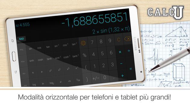11 Schermata Calcolatrice elegante CALCU™