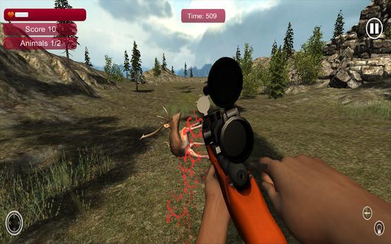 Wild Jungle Animal Sniper Hunt screenshot 2