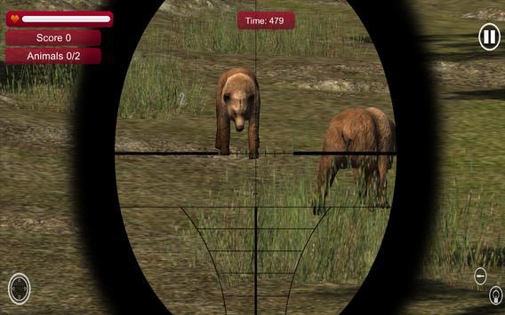 Wild Jungle Animal Sniper Hunt screenshot 3