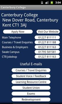 Canterbury College screenshot 2
