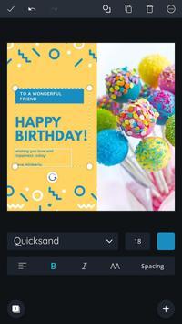 Canva: Graphic Design, Video, Invite & Logo Maker poster