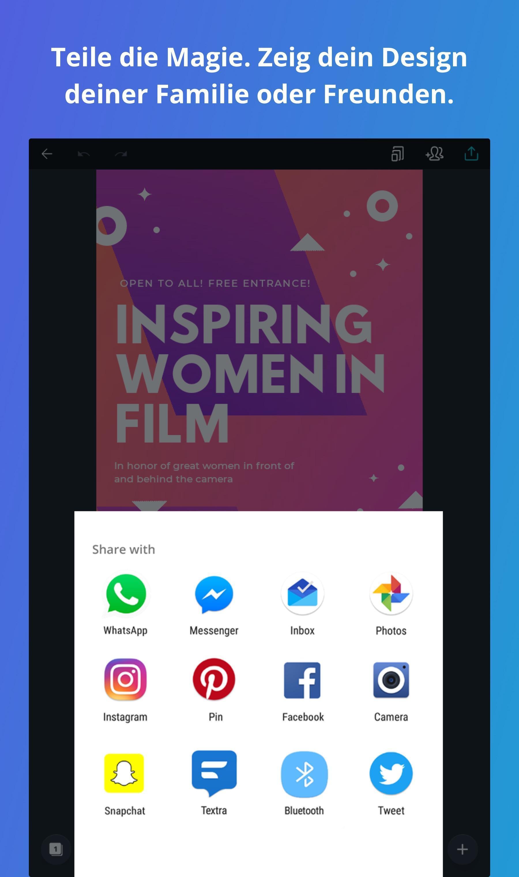 Canva Für Android Apk Herunterladen