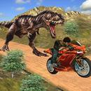 corrida de bicicleta dino aventura 3d APK