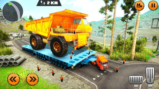 Heavy Cargo Trailer Truck Simulator 2019 screenshot 8