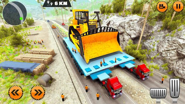 Heavy Cargo Trailer Truck Simulator 2019 screenshot 10