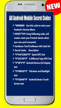 Nokia All Android Mobile Secret Codes screenshot 6