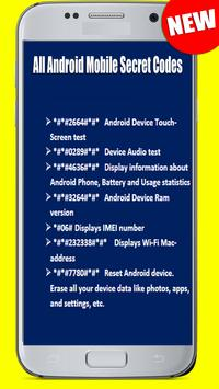 Nokia All Android Mobile Secret Codes screenshot 1