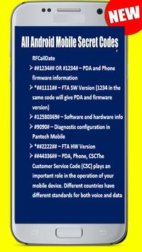 Nokia All Android Mobile Secret Codes screenshot 3