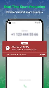 Who - Caller ID, People & Phone Lookup, Spam Block screenshot 1