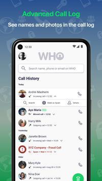 Who - Caller ID, People & Phone Lookup, Spam Block screenshot 2