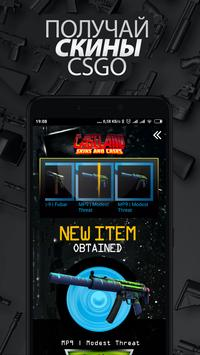 CaseLand eSports SS -  Skins and Cases poster