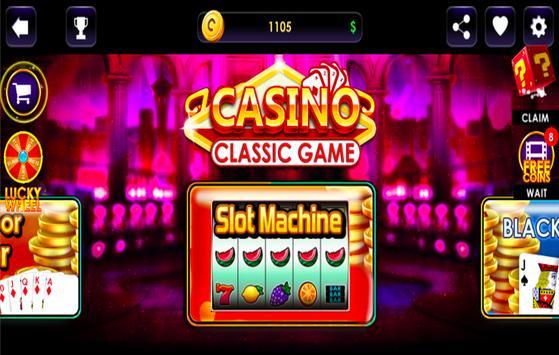 Classic Casino - Slot Machine Black Jack poster