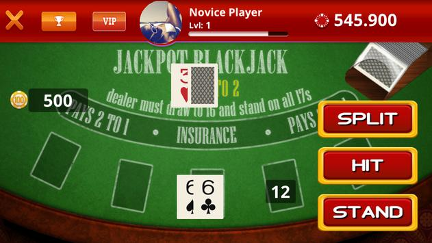 Casino Poker Blackjack Slots screenshot 2