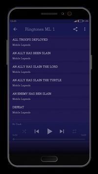 Ringtones Mobile Legends Mp3 screenshot 1