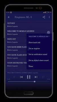 Ringtones Mobile Legends Mp3 screenshot 3