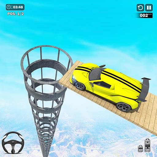 GT Mega Ramp Stunts: Car Racing Games- Car Games