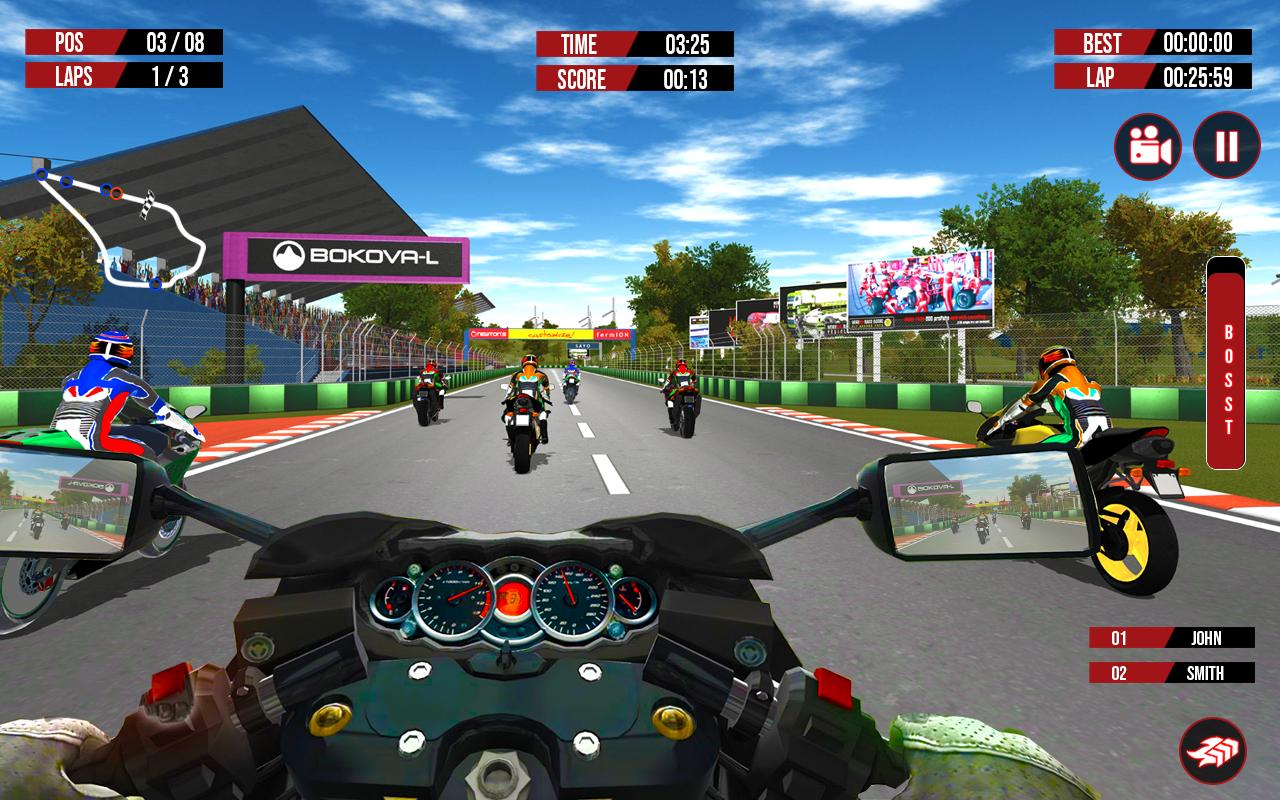 Bike racing game free for android apk download.