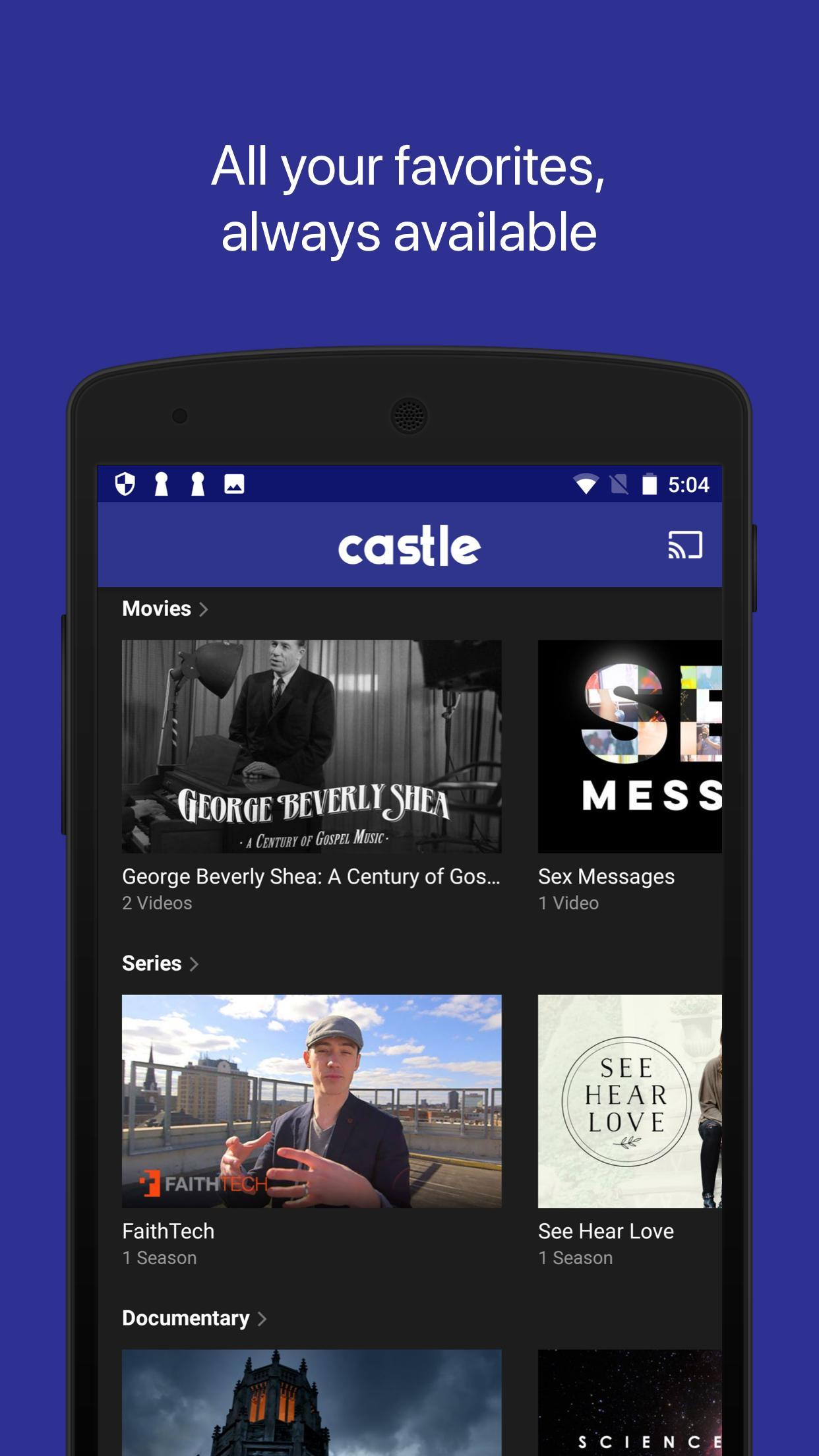 Castle TV for Android - APK Download