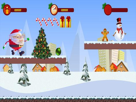 Santa Claus Rush 3D :Special Christmas screenshot 11