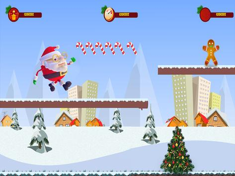 Santa Claus Rush 3D :Special Christmas screenshot 14