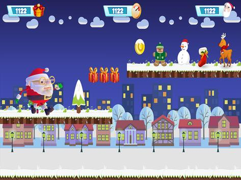 Santa Claus Rush 3D :Special Christmas screenshot 2