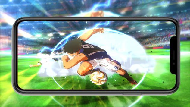 Captain Anime Tsubasa New dream team wallpaper screenshot 2