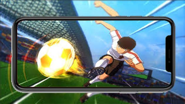 Captain Anime Tsubasa New dream team wallpaper screenshot 4
