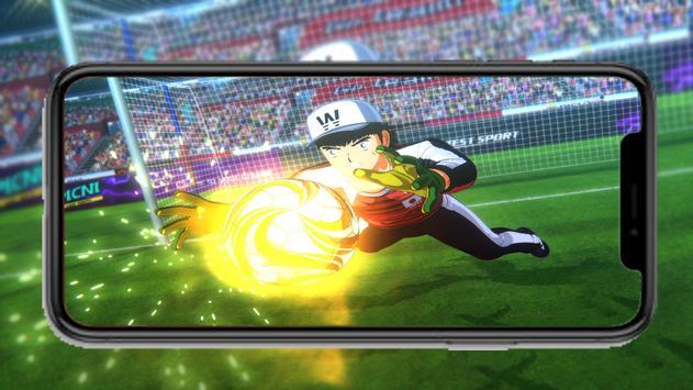 Captain Anime Tsubasa New dream team wallpaper screenshot 5