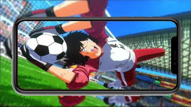 Captain Anime Tsubasa New dream team wallpaper screenshot 6