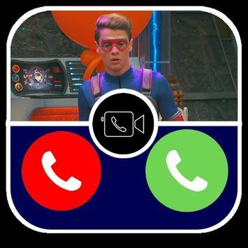 panggilan palsu Kapten Henry Prank Bahaya Pro screenshot 7