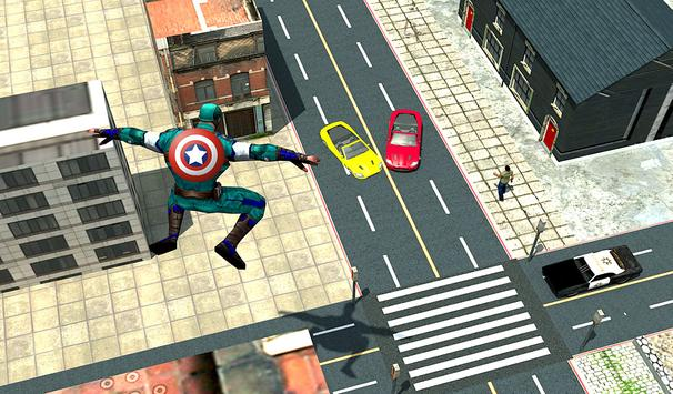 Super Captain Soldier America 3D Simulator screenshot 11