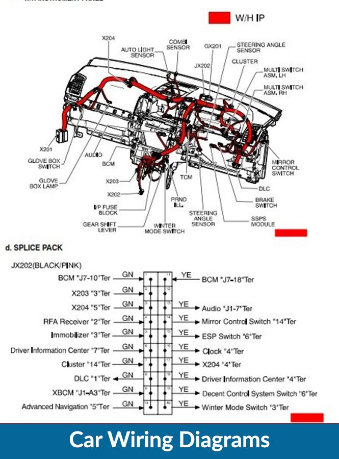 car wiring diagrams for android  apk download