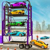 Multi Level Real Car Parking icon
