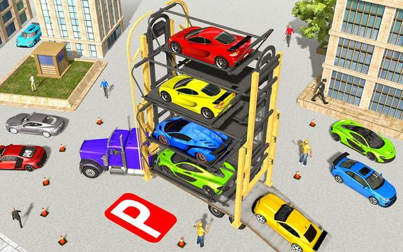 Multi Level Real Car Parking poster