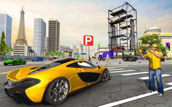 Multi Level Real Car Parking screenshot 1
