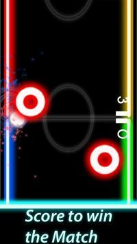 Air Hockey Glow Mania - Fingers Challenge 1v1 screenshot 8
