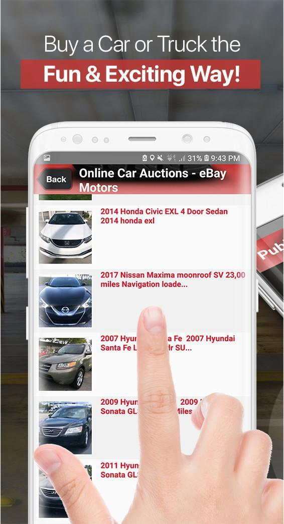 Car Auction Apps >> Auto Auctions App Used Cars And Trucks Usa For Android