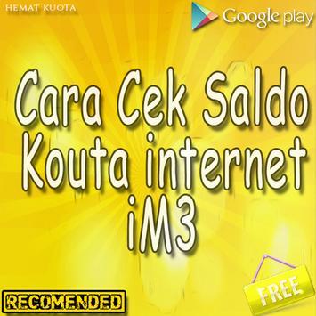 Cek Sisa Pulsa Kuota & Paket Indosat poster