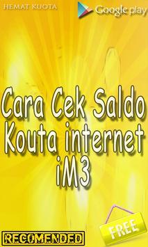 Cek Sisa Pulsa Kuota & Paket Indosat screenshot 1