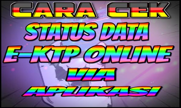 Cara Cek Status Data Ektp Online Lewat Aplikasi screenshot 1