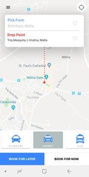 🚘cbMalta Cabs | Car Rental | Tours in Malta screenshot 1