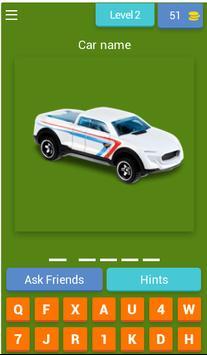 Quiz Hot Weels screenshot 2