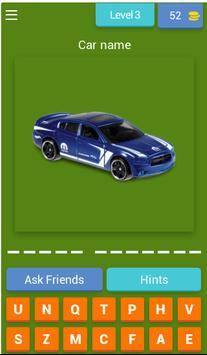 Quiz Hot Weels screenshot 3