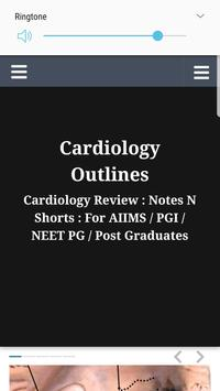 Cardiology Outlines: Notes N Shorts: PG MD/MS Exam poster