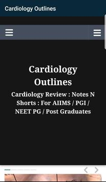 Cardiology Outlines: Notes N Shorts: PG MD/MS Exam screenshot 3