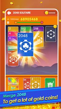 2048 Cards Casual - 2048 Solitaire Games الملصق